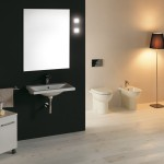 Lavabo Clever, carrello Linea, sanitari Smart