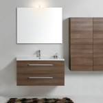 Mobile Living con lavabo Cover Plain, pensile Linea